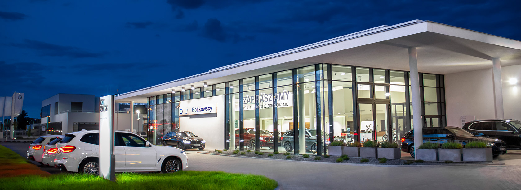 Salon Dealer BMW Bońkowscy.